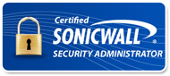 dell sonicwall certified